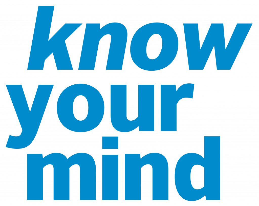 Know your mind English logo